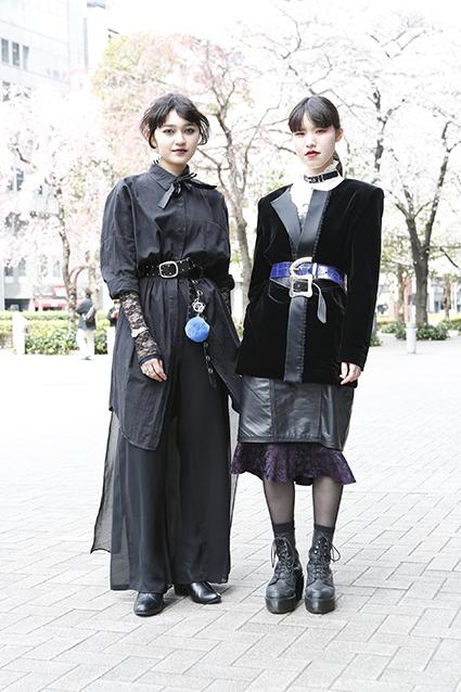 服装 東京 今日 の